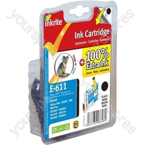 Inkrite NG Printer Ink for Epson D68 D88 DX3800 DX4800 - T061140 Black (Koala)