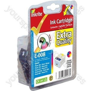 Inkrite NG Printer Ink for Epson 790 870(LE) 875DC 890 915 - T008 Color (Parrot)