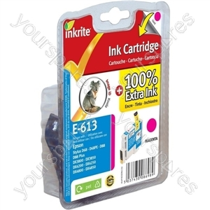 Inkrite NG Printer Ink for Epson D68 D88 DX3800 DX4800 - T061340 Magenta (Koala)