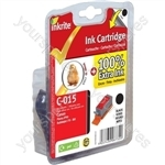 Inkrite NG Printer Ink for Canon i70 i80 Pixma iP90 - BCI-15BK Black (Chick)