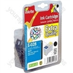Inkrite NG Printer Ink for Epson C60 - T028 Black (Pebbles)