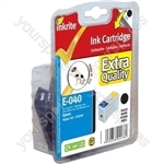 Inkrite NG Printer Ink for Epson C62 CX3200 - T040 Black (Dog)