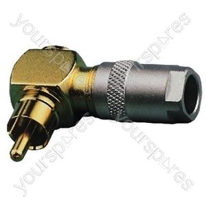 Angled Cinch Plug