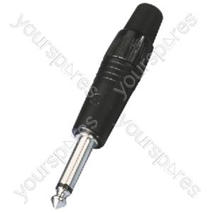 6.3mm mono plug