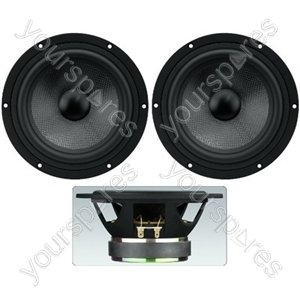 Car Woofer Pair