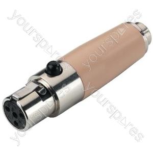 Mini XLR-Adaptor