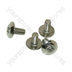 M4 X 7mm Mush Hd M/c Screw