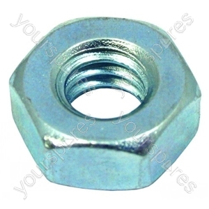 1/4 Bsw C/f Full M/c Nut Zn