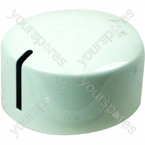 Ariston Dishwasher White Timer Knob Assembly