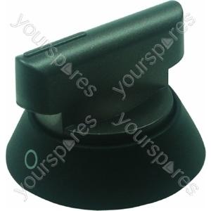 Cannon Silver and Black Cooker Control Knob
