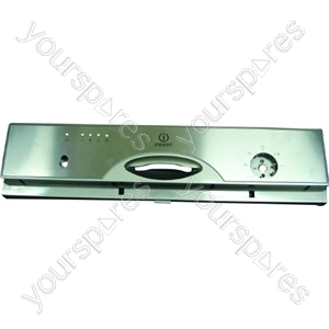 Indesit Stainless Steel Control Panel Fascia
