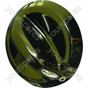 Indesit Black Main Oven Control Knob