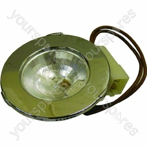 Indesit Extractor Fan Lamp Assembly Including Cover