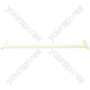Ariston White Refrigerator Crisper Cover/Bottom Shelf Trim - 592 x 112 mm