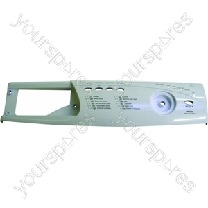 Indesit Control Panel Fascia & Drawer Front