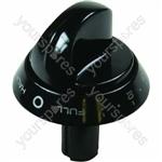 Control Knob Twin - Black
