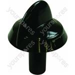 Hotpoint Black Hob Hotplate Control Knob