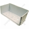 Indesit Polar White Lower Freezer Drawer Body - 433 x 277 mm