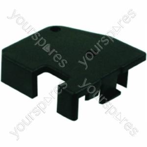 Indesit Black Left Hand Bottom Oven Door Cap