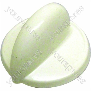 Indesit White Cooker Control Knob