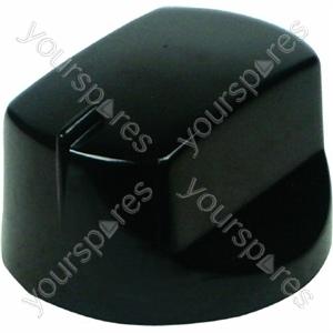 Indesit Black Oven Knob