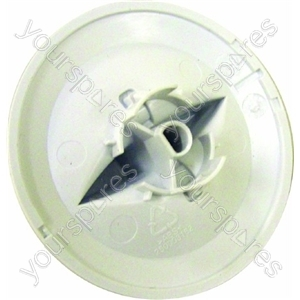 Indesit Washer Dryer White Programme Selector Knob