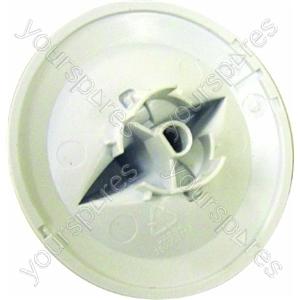 Indesit Washer Dryer White Programme Selector Knob