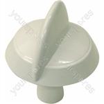 Indesit White Hob Hotplate Control Knob