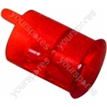 Indesit Red Neon Light Lamp Lens