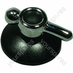 Indesit Black Knob Assembly