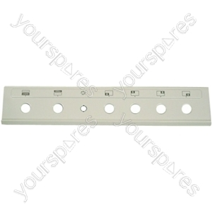 Indesit White Cooker Control Panel Assembly