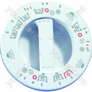 Indesit White Timer Control Knob