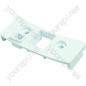 Indesit White Door Latch Cover