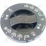 Indesit Dark Brown Washing Machine Timer knob