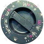 Hotpoint Brown Timer Control Knob