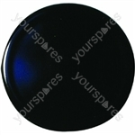 Indesit Gas Hob Black Burner Cap - D: 55mm