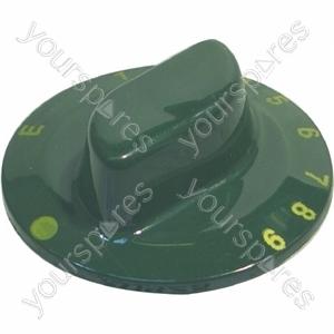 Indesit Oven Control Knob (Green)