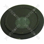 Indesit Black Medium/Semi-Rapid Gas Hob Burner Cap