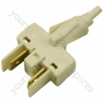 Indesit White Ignition Button