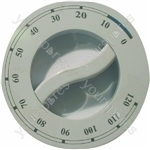 Indesit White Silkscreened Tumble Dryer Timer Knob