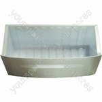Hotpoint White Plastic Bottom Freezer Drawer