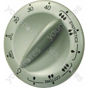 Indesit Silver/Grey Tumble Dryer Timer Knob