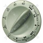 Indesit Silver/Grey Tumble Dryer Timer Knob