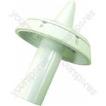 Indesit White Heat Control Knob - 6 Temperature Markings