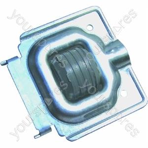 Indesit Washing Machine Wheel & Bracket Assembly