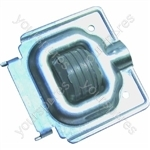 Indesit Washing Machine Wheel & Bracket Assembly