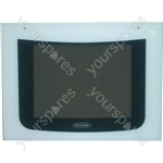 Oven Door Glass White