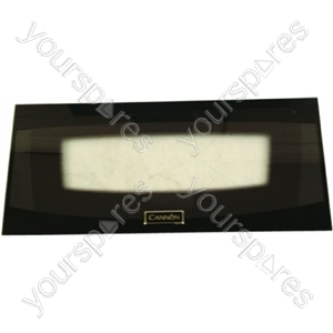 Cannon Black Outer Top Oven Glass