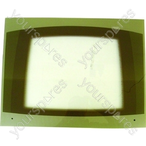 Cannon Main Oven Outer Door Glass Assembly