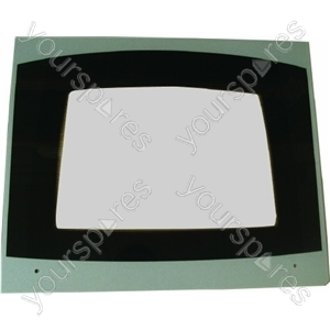 Cannon Main Oven Outer Door Glass